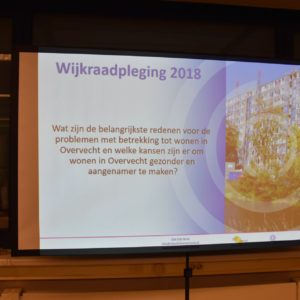 Afbeelding bij Foto's geslaagde presentatie wijkraadpleging Overvecht
