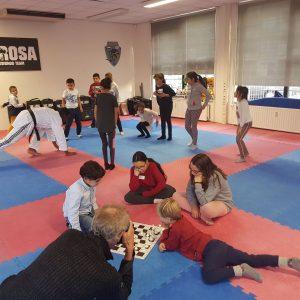 Afbeelding bij Gecombineerd schaak- en vechtsportevenement in Krachtstation